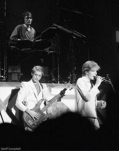 Mick Karn, Steve Jansen and David Sylvian