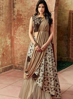 Distinguishable Heavy Embroidered Party Wear Lehenga Choli WhatsApp us for Purchase & Inquiry : Buy Best Designer Collection from by Indian Bridal Lehenga, Indian Bridal Wear, Indian Gowns, Indian Outfits, Indian Wear, Party Wear Indian Dresses, Choli Designs, Blouse Designs, Art Designs