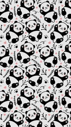 New wall paper celular fofo panda 66 Ideas Cute Panda Wallpaper, Look Wallpaper, Nursery Wallpaper, Animal Wallpaper, Pattern Wallpaper, Drawing Wallpaper, Panda Illustration, Balloon Illustration, Panda Wallpapers