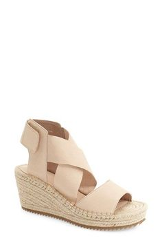 ddd5c5d48041 Free shipping and returns on Eileen Fisher  Willow  Espadrille Wedge Sandal  (Women)