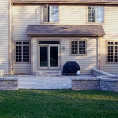 Patio With Fire Pit By Tinley Park, IL Patio Builder