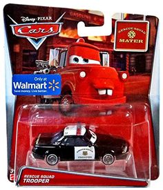Disney Cars Rescue Squad Trooper Exclusive 1:55 Diecast C...
