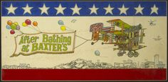Cobb's amazing illustration for Jefferson Airplane's 1967 album, AFTER BATHING AT BAXTER'S, still one of my faveravest album covers of all time!
