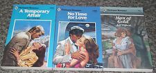 LOT OF 3 KAY CLIFFORD NEW HARLEQUIN VINTAGE ROMANCE BOOKS 1980's #25