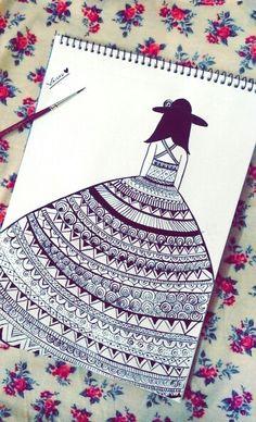 Doodle ♥  Live life Queen size *.*