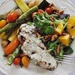 mustard-chicken & veggies