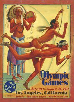 Santa Fe Olympic Games Los Angeles 1932