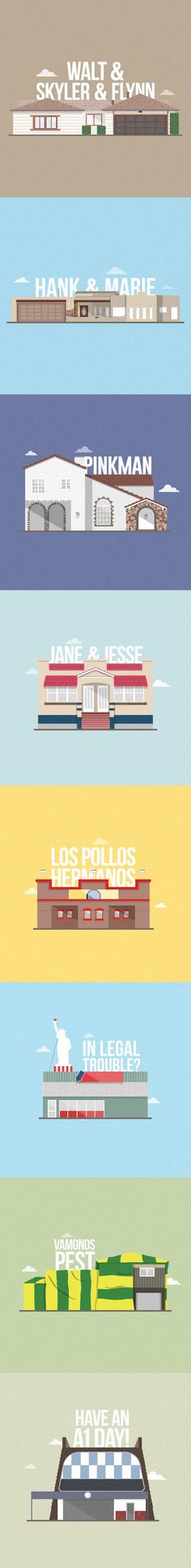 Breaking Bad Houses on Behance