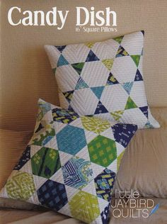 Candy Dish Pillows