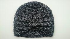 *LolaIsHooked* Babygirl Turban hat with Dutch pattern