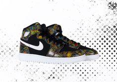 buy online 1598d e9ab1 Air Jordan 1 High BHM 2016 Release Details   SneakerNews.com Sneaker Release,  Jordan