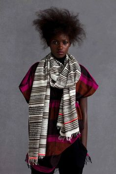 beautiful Ethiopian handmade scarves.