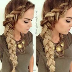 I'm so in love with this braid just wish my hair was longer so I could do this