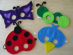 Backyard Creature Masks