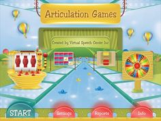 41 apps promoting articulation, language, memory and problem solving http://www.virtualspeechcenter.com/apps