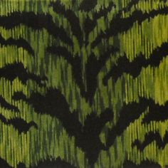 Save big on Scalamandre. Free shipping! Always 1st Quality. Search thousands of patterns. Item SC-26167MA-002. Swatches available. Green Fabric, Black Fabric, Fabric Patterns, Print Patterns, Green And Grey, Gray, Printing On Fabric, Velvet, Design