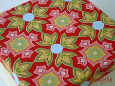 caixa de chá delighted mosaic