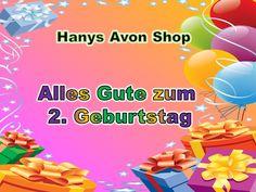 Alles Gute zum 2. Geburtstag Hanys Avon Shop - Hanys Avon Shop Avon, Shops, Blogging, Cordial, Tents, Retail