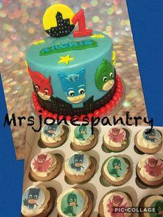 Pj masks cake