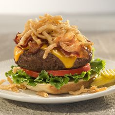 FRENCH'S® BACON CRUNCH BURGERS, I've made these before & they are awesome