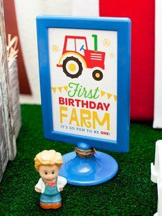 farm first birthday decorations