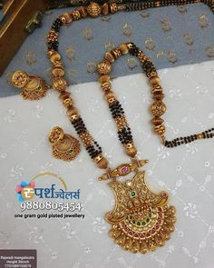 Gold Ring Designs, Gold Bangles Design, Gold Jewellery Design, Silver Pooja Items, Indian Bridal Jewelry Sets, Gold Mangalsutra Designs, Gold Jewelry Simple, Jewelry Design Earrings, How To Make Necklaces