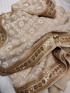 Best Trendy Outfits Part 5 Zardozi Embroidery, Kurti Embroidery Design, Embroidery Fashion, Embroidery Dress, Embroidery Works, Pakistani Wedding Outfits, Pakistani Dresses, Indian Dresses, Indian Outfits