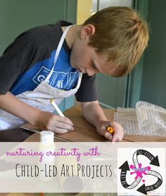 Nurturing Creativity with Child-Led Art Projects Therapy Ideas, Art Therapy, Projects For Kids, Art Projects, Art Camp, Mini Me, Famous Artists, Recycled Materials, Plays