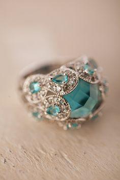 Aquamarine Dinner Ring