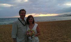 Bob & Kim 3/9/13 at Poipu beach