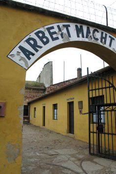 Terezin. An evil echo from the era of Nazi occupation.