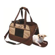 Bolsa London Bege E Marrom - Chalesco - Adquira essa Bolsa linda para transportar o seu cãozinho . Com ela você pode levar seus bichos para todos os lugares com estilo e conforto. Recompense todo o carinho e o amor que eles te dão com os acessórios da Chalesco! Os acessórios da Chalesco são feitos na medida certa. Com certeza eles merecem! Bolsa muito confortável e bonita para passear com seu cão. MeuAmigoPet.com.br #petshop #cachorro #cão #meuamigopet