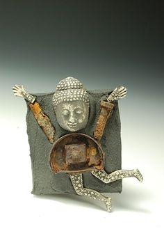 Buddha Dancing, Lana Wilson, ceramic artist by Migle
