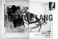 """""""No Regrets."""" Helmut Lang Speaks About His """"Living Archive"""" Intervention at the MAK in Vienna and His Work in Fashion Helmut Lang, Juergen Teller, Brand Building, Deconstruction, Fashion Images, New Words, Digital Collage, Video Editing, Regrets"""
