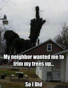 Tu vecino te quiere decir algo..