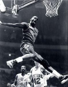 CLASSIC PIC! Michael Jordan - Chicago Bulls