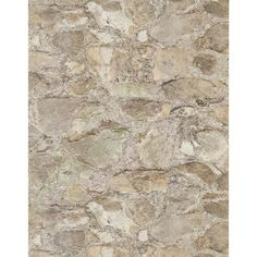 "York Wallcoverings Weathered Finishes Field Stone 33' x 20.5"" Abstract Wallpaper"