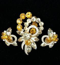 edc4891ec Fabulous Vintage Eisenberg Ice Brooch and by Vintageimagine #Teamlove # vintage #jewelry #Fashion