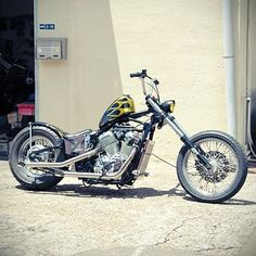 Honda Steed 400 600 Honda Shadow Bobber, Honda Bobber, Bobber Chopper, Yamaha, Custom Cycles, Custom Bikes, 600 Honda, Honda Cruiser, Honda Steed