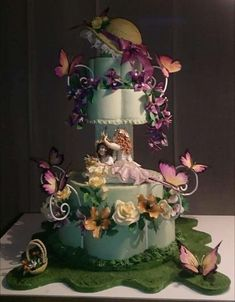 The Spring IS here!🌸🌻🌹 - cake by silvia ferrada colman Pretty Cakes, Beautiful Cakes, Amazing Cakes, Spring Cake, Cupcake Cookies, Cupcakes, Funny Cake, Cake Art, Art Cakes