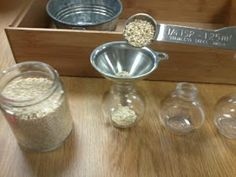 montessori workjobs: montessori practical life spooning extensions