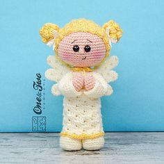 Annie the Angel Amigurumi pattern by Carolina Guzman
