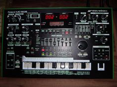 MATRIXSYNTH: Roland MC-505 Groovebox with Aira Skin For Sale