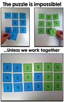 Team Building in Math Class - A Free Spiral Studies Lesson