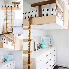 Isn't this the COOLEST bed?! @lisa_allen from @lunchpailsandlipstick combined her daughters room  with the nursery for the new babes and it turned out awesome. Hop over to her feed for all the details! #dash #beddys #zipyourbed #zipperbedding