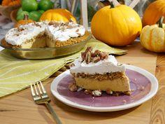 Pumpkin Pie Ice Cream Cake recipe from The Kitchen via Food Network