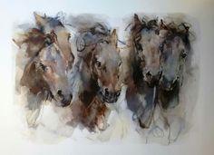 Marli Hommel Equine Art, Horse Art, Newfoundland, Pony, Horses, Drawings, Pet Art, Horse Paintings, Animals