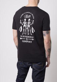 Skeleton T - shirt - Scoundrels & Co.