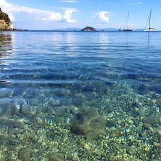 Cala delle alghe a #cavo frazione di #riomarina nello scatto di @camillarickler. Continuate a taggare le vostre foto con #isoladelbaapp il tag delle vostre vacanze all'#isoladelba.
