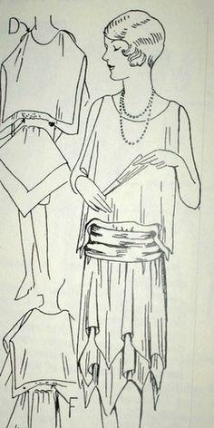 1920s Easy to Make 20s Flapper dresses Evening Wraps, Wedding Veil | eBay